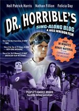 DR HORRIBLE'S SING ALONG BLOG. Neil Patrick Harris. Region free. New DVD.