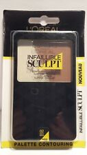 Palette Contouring Highlight Infaillible Sculpt 02 Claire A Medium L'Oréal