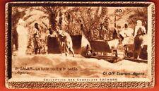 Image - Chromo -In.Salar - La Lutte contre le Sable - Algérie - Suchard - Réf.56