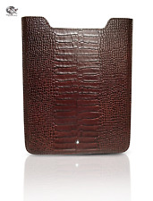 Montblanc Meisterstuck Selection 107491 Chocolate Alligator  Leather iPad 2 Case