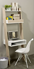SoBuy® Wall Storage Shelving Unit with Drawer & Desk Workstation,FRG111-WN,UK
