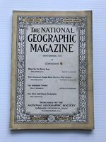 National Geographic Magazine - September 1918 - Ships For The Seven Seas