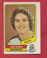RARE 1976-77 OPC WHA # 46 MARINERS JOE NORIS ROOKIE CARD
