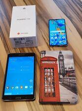 Huawei P30 128GB Aurora Smartphone ohne Simlock (Dual-SIM) + Samsung Tab SM-T230