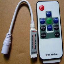 DC IR 10 Keys RF Infrared Remote Controller LED Strip Wireless Control RGB