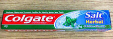 Colgate Cavity Protection Toothpaste Salt Herbal Calcium Fluoride Healthy 80g.