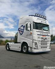 "To Fit Volvo FH4 2013+ Globetrotter XL Steel Roof Light Bar + 9"" Black Spots"