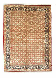"Genuine 5'7"" x 7'11"" Jaipur Wool & Silk Area Rug Area Rug Carpet"