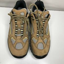 Vasque Women's  Size 7.5 -Brown Mid Hiking Trail Shoes Boots Vibram Soles - NWOT