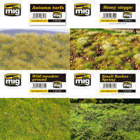 Ammo by Mig Diorama Grass Mats (Choose Your Variation)