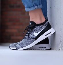 on sale ee2d7 0c8fb Nike Air Max Thea Ultra Flyknit Black White Oreo Taille UK 5.5 EUR 39  881175 -001