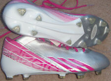 NEW Mens adidas adiZero 5-Star 2.0 Silver Mid Football Cleats Size 11 MSRP $120