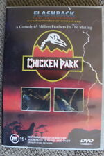 CHICKEN PARK DELETED OOP RARE DVD REGION 4 PAL - JURASSIC PARODY COMEDY FILM