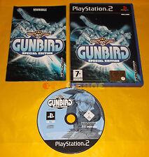 GUNBIRD SPECIAL EDITION Ps2 Gun Bird Versione Italiana 1ª Edizione ○ COMPLETO A8