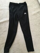 Adidas Football Tracksuit Bottoms Women's Size 8-10