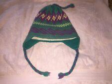 Vintage Authentic Vermont Needlecrafts Shelburne Vt Wool Blend Hat