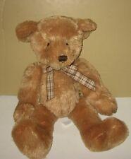 """14"""" Sitting Russ """"Jaclyn"""" Caramel Soft Stuffed Plush Teddy Bear"""