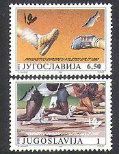 Yugoslavia 1990 Sports/Games/Athletics/Running 2v set (n37756)