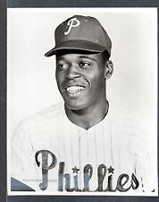 Choo Choo Coleman PHILLIES 7-3/4 x 9-1/2  UNSIGNED ORIGINAL B & W STAFF PHOTO #1