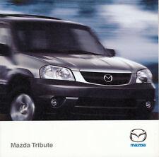 Mazda -Tribute - 3.0 V6 - 2.0 - Prospekt - 02/2000  - Deutsch - nl-Versandhandel