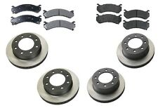 Chevrolet Silverado 2500 HD Base V8 6.0L 2003 OPparts Semi Metallic Brake KIT