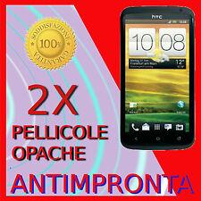 2 Pellicola Per HTC One S Opaca Proteggi LCD Antiriflesso Pellicole Antimpronta