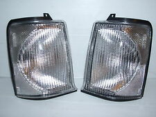 LAND ROVER DISCOVERY 2 FRONT INDICATOR CLEAR LAMPS / LIGHTS 98 > 03 - NEW PAIR