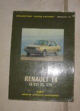 * Manuel renault 18 R18 TS GTS 1979 EPA