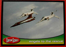 CAPTAIN SCARLET - Card #38 - Angels To The Rescue - Cards Inc. 2001