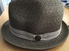 f6d7afffc69 New GOORIN BROS Hat 100% Straw Size Small Humphrey FREE POSTAGE