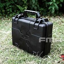 FMA Tactical Plastic Case TB1260 Outdoor Travel Portable Sealing Storage Box BK