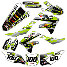2009 2010 2011 KXF 450 GRAPHIC KIT KAWASAKI JET FIGHTER DECALS STICKERS DECALS