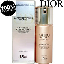 100 Authentic Dior Capture Totale Solaire Global Anti-aging Tan Activator