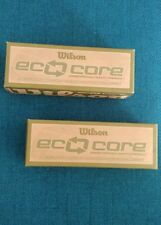 Wilson Eco Core Earth Friendly Golf Balls Two Boxes Of 3 New