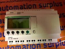 SCHNEIDER ELECTRIC SR2B201B ZELIO PLC 20 I/0 24VDC NEW QUANTITY WOW !!