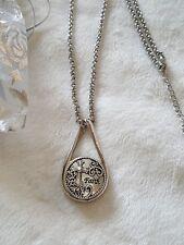 Religious FAITH snap button silver infinity Necklace interchangeable  adjustable