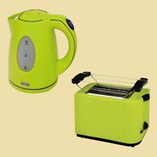 Efbe Schott Set Wasserkocher WK 5010 + Toaster SC TO 5000 - lemon (hellgrün)
