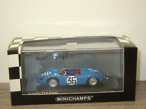 Porsche 718 RS60 24h LeMans 1960 Kerguen/Lacaze - Minichamps 1:43 in Box *53093