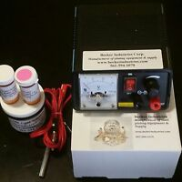 silver plating Kit Includes silver solution Silver//Gold Plating Machine