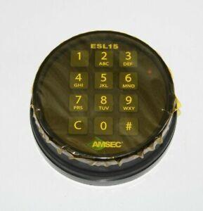 Amsec ESL15 Standard Bolt Electronic Safe Lock (Black)