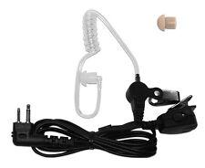 Acoustic Ear Tube Surveillance Kit for Motorola GP300, SP50, P110, P-1225/P1225L