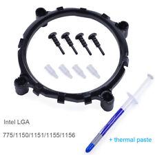 CPU Cooling Fan Heatsink Socket Mount Bracket Dock For Intel LGA 775/1155/1156 X