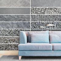 WIDE 4m, Cheap Grey Silver Carpets, Shaggy, Twist & Saxony Pile Carpets Feltback