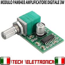 Modulo PAM8403 amplificatore digitale audio stereo con Potenziometro