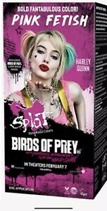 Splat Rebellious Colors Birds Of Prey Limited Edition -Pink Fetish- Harley Quinn