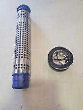 """VTE3018 300mm COMMERCIAL SINK PLUG OVERFLOW STRAINER KIT  1-1/2"""" WASTE FITTING"""