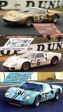 Calcas Ford MkII Le Mans 1967 5 6 57 1:32 1:24 1:43 1:18 64 87  GT40 decals