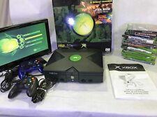 Xbox First Gen - original box (Refurb) 15 games