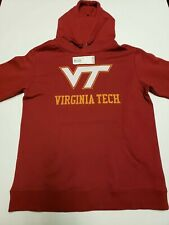 New Virginia Tech VT College Hoodie Fanatics Jacket Pullover Size Large