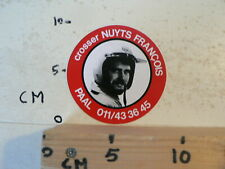 STICKER,DECAL CROSSER NUYTS FRANCOIS PAAL AGV MX CROSS